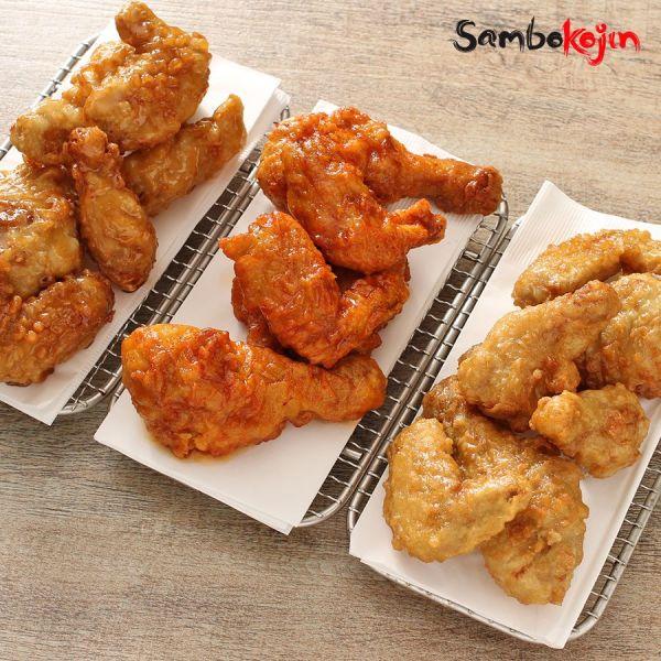 Korean-style fried chicken