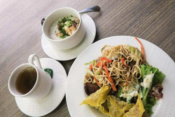 Buffet- Marina Bay Spa and Lifestyle Club