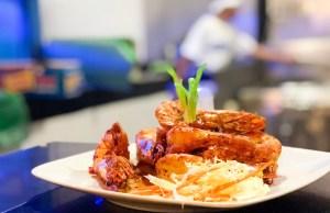 Shrimp in Special Sauce
