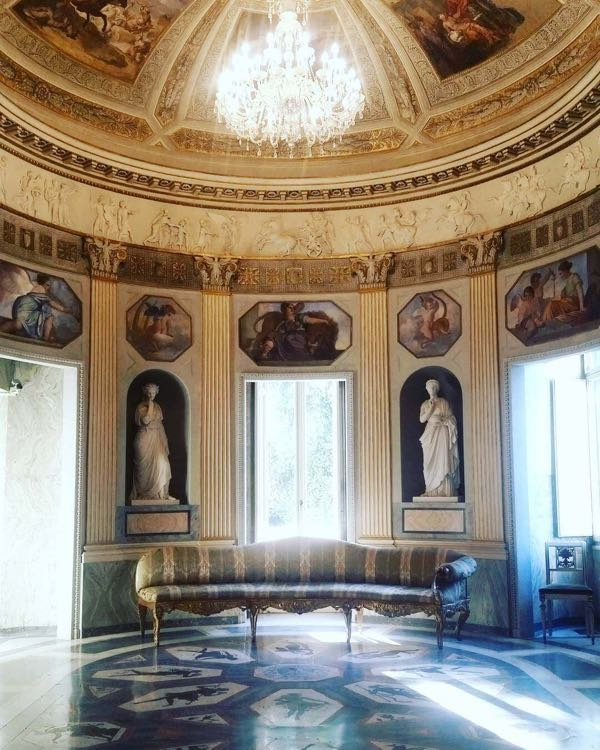 The hall of Casino Nobile