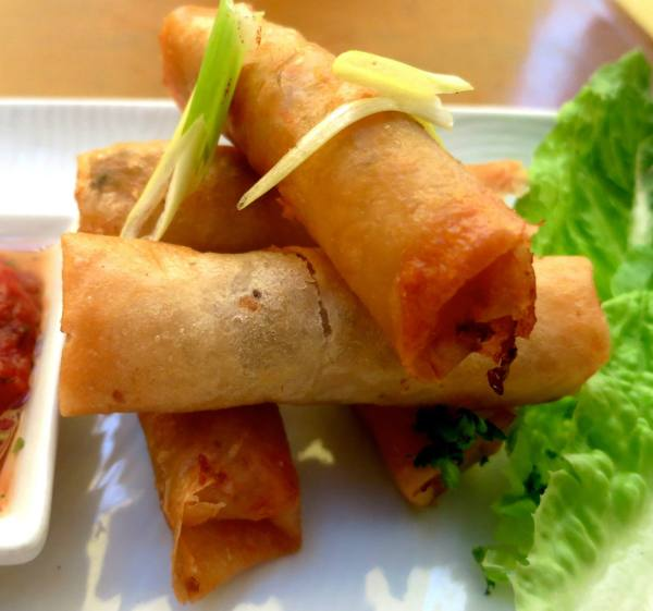 Tinapa Spring Rolls from Damiana's fb page