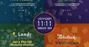 Voyager brings the biggest online deals to Filipinos for Singles Day