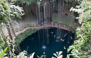 Yucatan Cenotes in Mexico