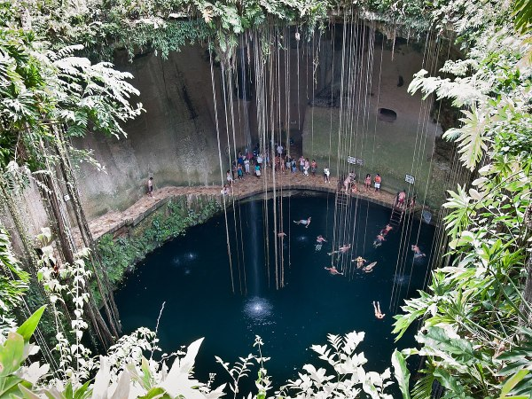 Yucatan Cenotes in Mexico