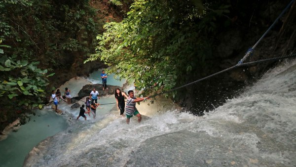 Aguinid Falls Level 2 -– credit Louise Santiano