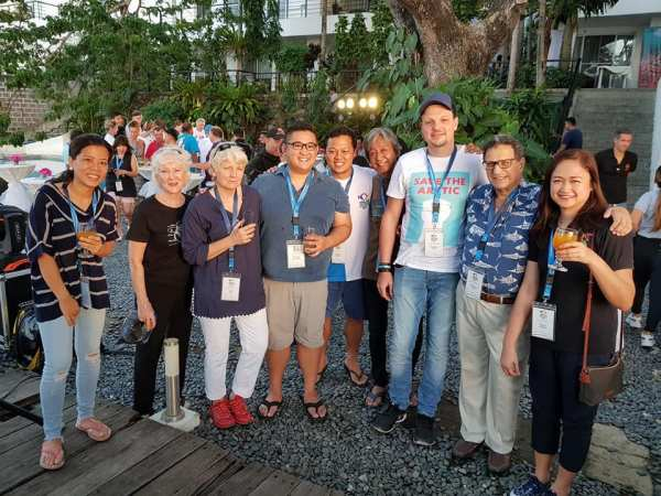 Anilao Underwater Shootout 2017 Judges and Organizers