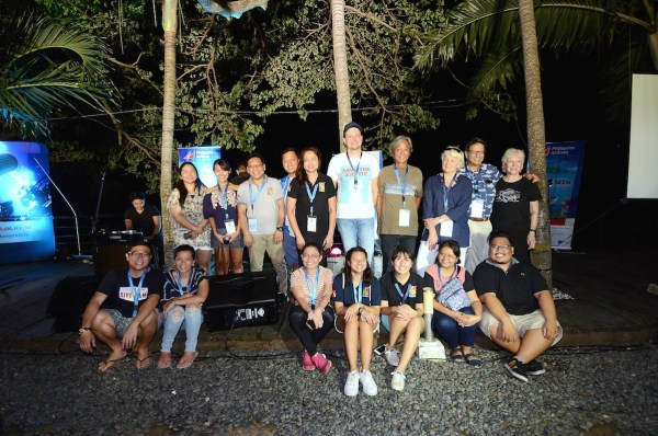 Dive Philippines organizing team with judges and sponsors