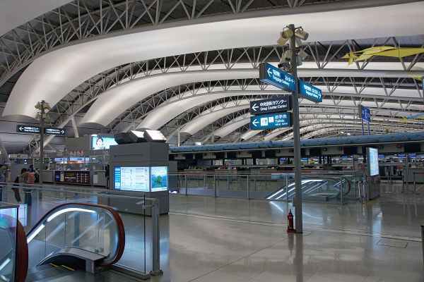 Flights from Manila to Kansai International Airport in Osaka Japan