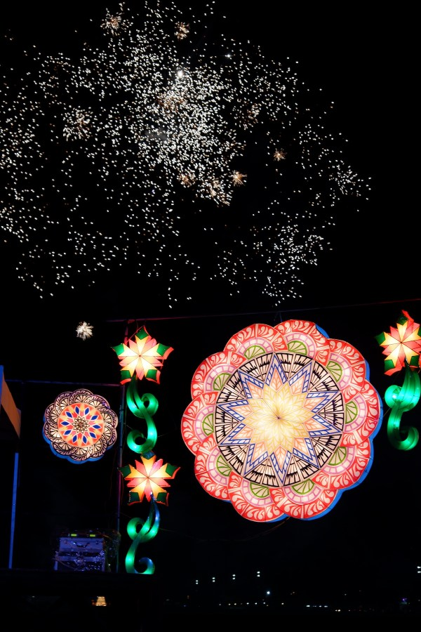 Giant Parol in Pampanga