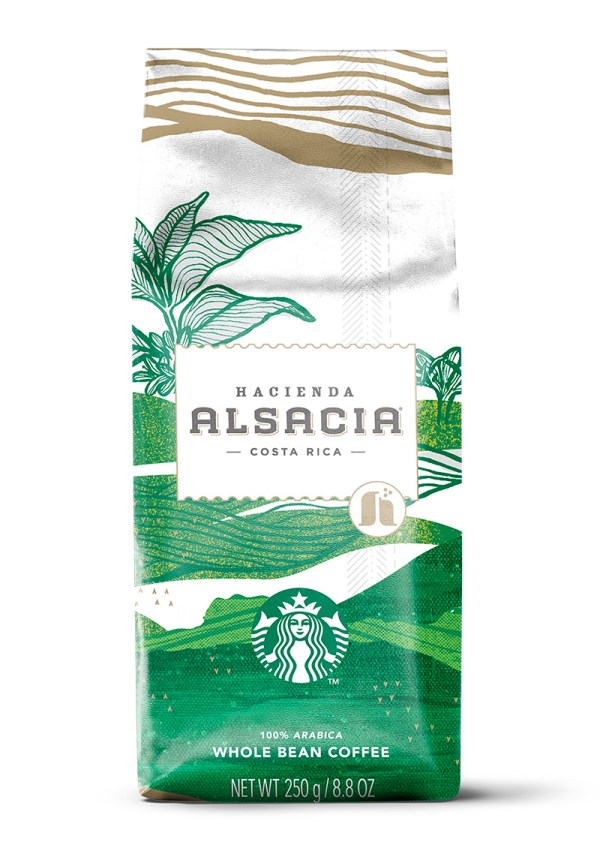 Starbucks Hacienda Alsacia Coffee