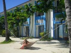 Hammock by the Beach at Microtel Puerto Princesa
