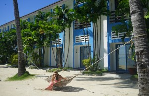 Hammock by the Beach at Microtel Puerto Princesa