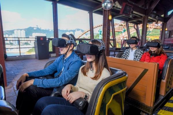 Mine Train presented by Samsung Gear VR