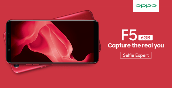 OPPO F5 6GB Red Limited Edition