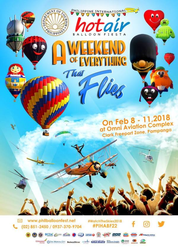 Philippine International Hot Air Balloon Fiesta 2018
