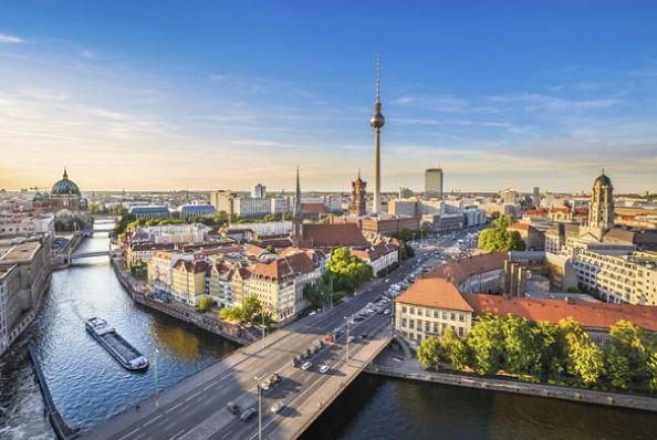 Berlin is also one of the most beautiful cities in the world. [Image Credit: The Ritz-Carlton]