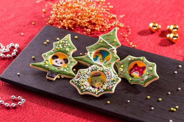 handmade Assorted Christmas Icing Cookies