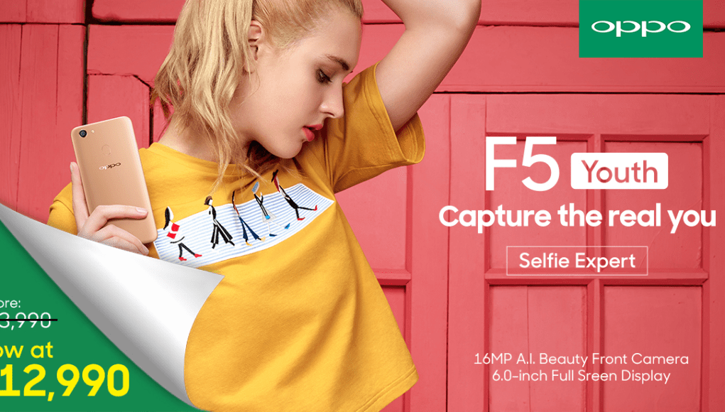 OPPO F5 Youth at Php12,990