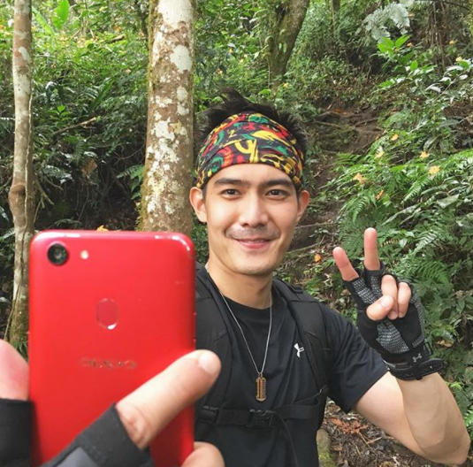 Robi Domingo Adventures with OPPO F5