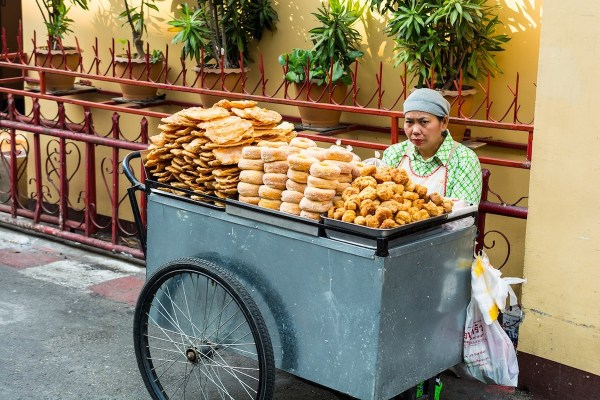 Street Food in Warorot Market