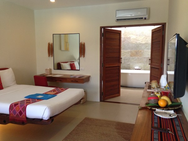 The top-class rooms of Bluewater Panglao