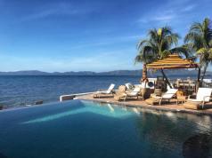 The breathtaking view of the Balayan beach. Photo via Soler Sea, Seaside Resort.