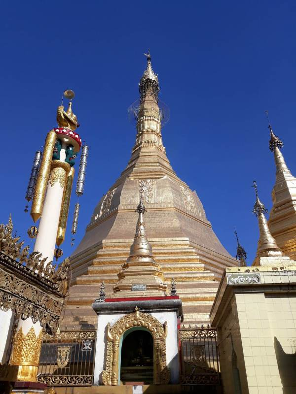 A closer look at the Sule Pagoda