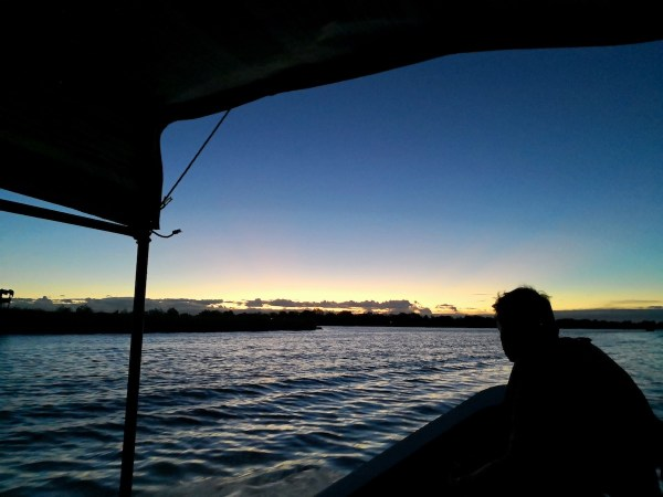 Early Morning boat ride to the bird sanctuary