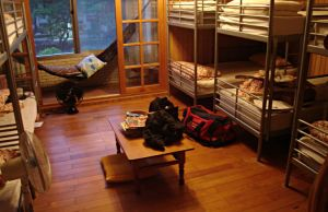 Hostels are inexpensive accommodations that will help you save a lot of money during your travels. [Image Credit: Wikimedia Commons]