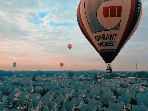 Hot Air Balloon Flight in Pampanga