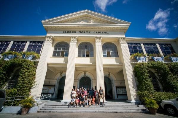Ilocos Norte Capitol by Martin San Diego : NPVB