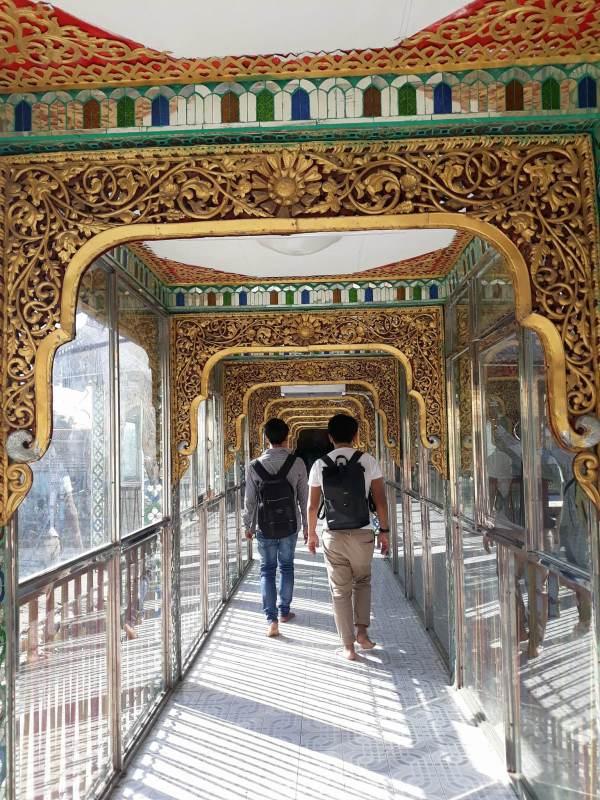 Inside Botataung Pagoda