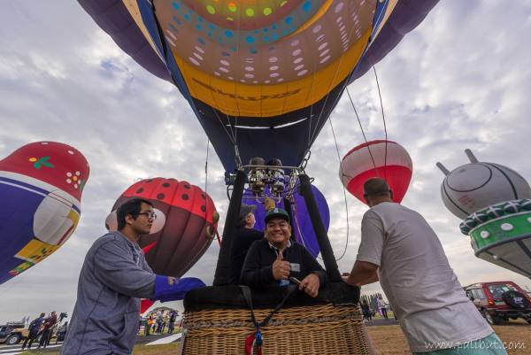 My Hot Air Balloon Ride Experience photo by Rob Pinzon