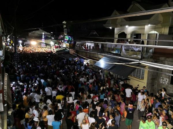 People of Sasmuan during Kuraldal Festival