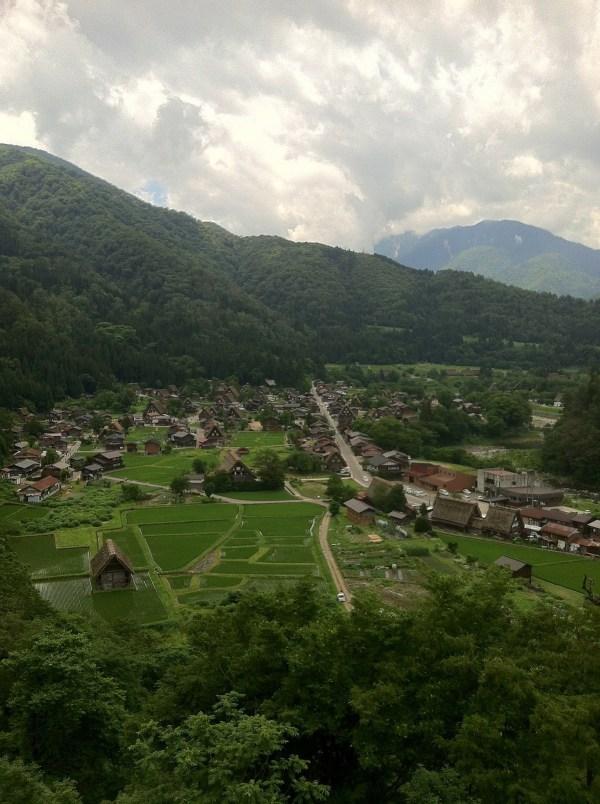 Shirakawa-go from viewpoint