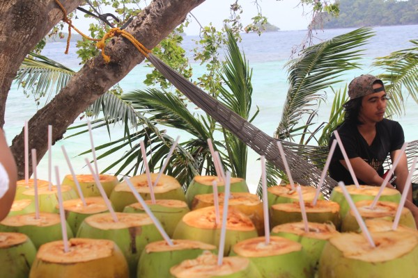 Fresh buko juice, anyone?
