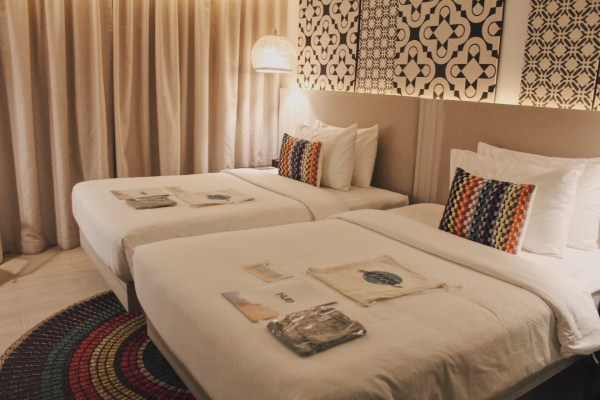 The 25 sqm Deluxe Room.