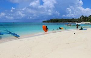 Beach in Siargao photo by Trevor Claringbold via Flickr