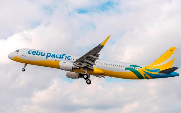 Cebu Pacific Airbus A321 photo from the Airbus Company