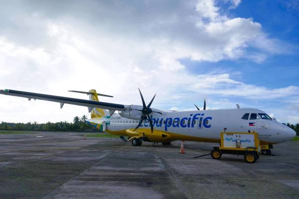 Cebu Pacific in Siargao