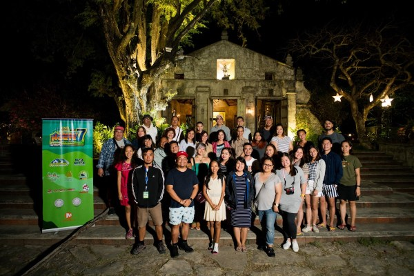 Lakbay Norte 7 Team at Sitio Remedios Heritage Village by Martin San Diego- NPVB