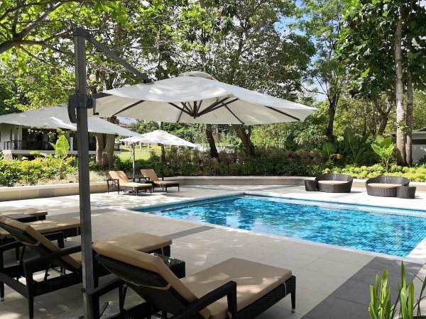 Poolside of Solina Beach Resort