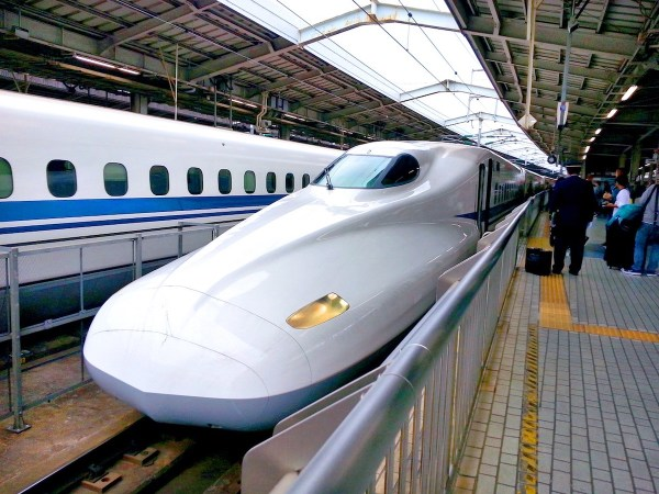 Shinkansen Bullet Train Tokyo