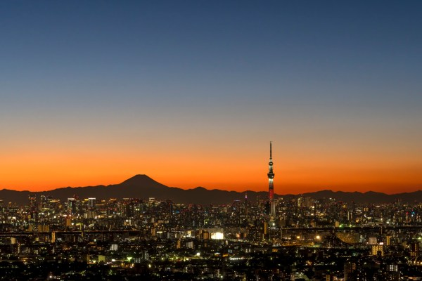 Sunset from Tokyo Skytree by B Lucava via Foter