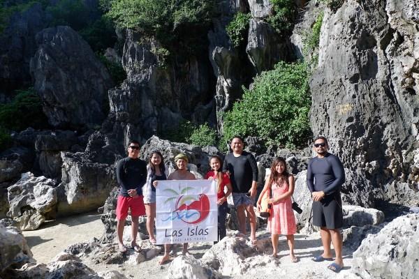 Travel Bloggers in Tangke Lagoon