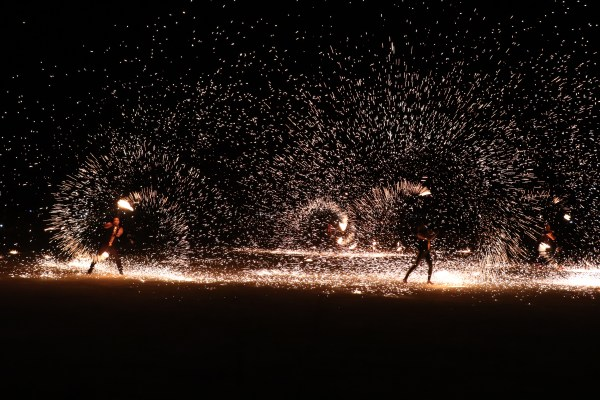 Fantastic Fire Dancers during the 3rd day of Sillag Festival.