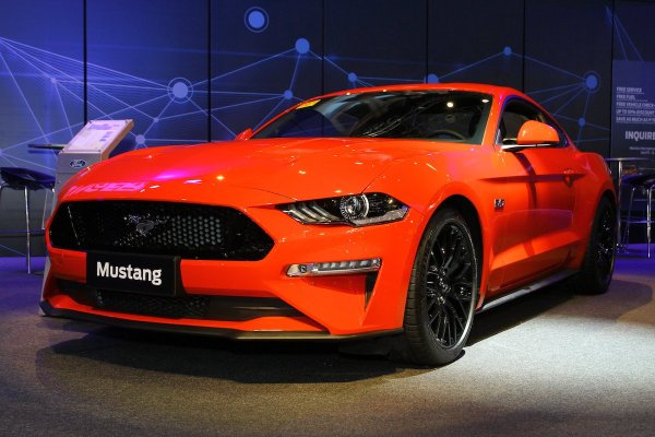 2018 Ford Red New Mustang