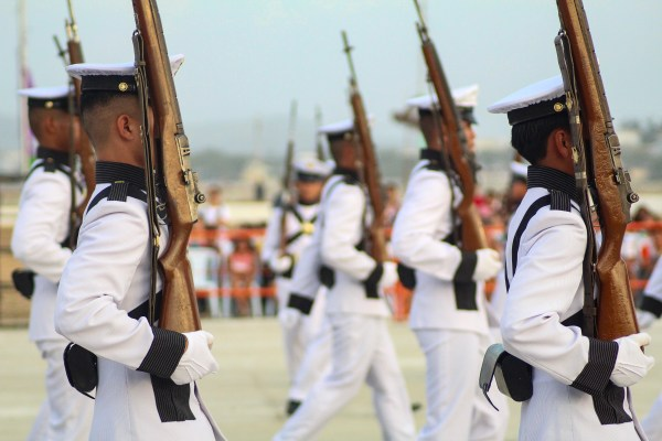 The PMA Marching Band held on April 8, 2017.
