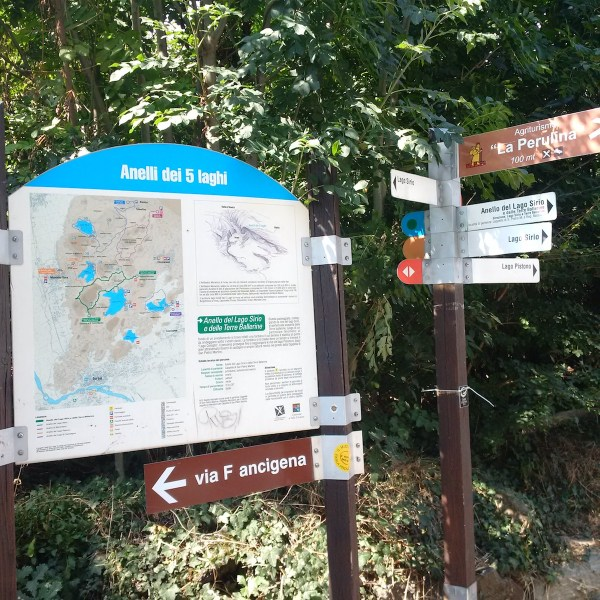 A junction in the 5 Rings of Ivrea