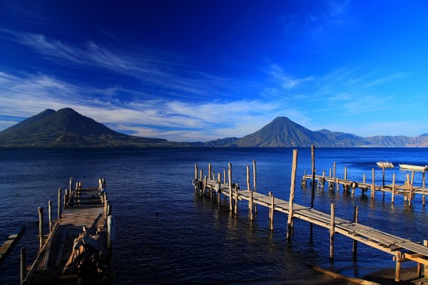 Beautiful Lake in Guatemala